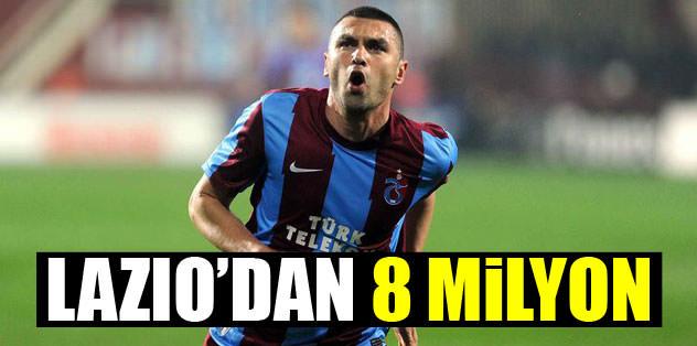 Lazio'dan 8 milyon