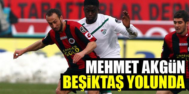Mehmet Akgün, Beşiktaş yolunda