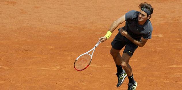 Federer'den bir rekor daha