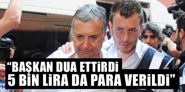 """Başkan dua ettirdi. 5 bin lira da para verildi"""