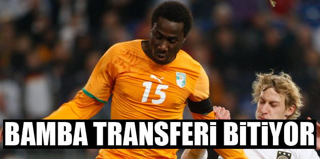 Trabzonspor, Bamba'nın transferini bitiriyor