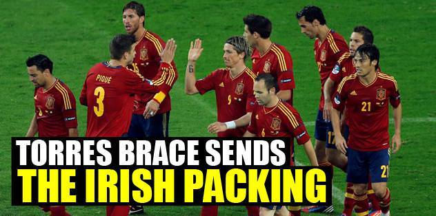 Torres brace sends the Irish packing