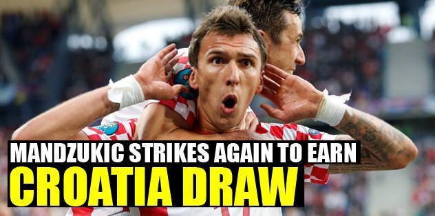 Mandzukic strikes again to earn Croatia draw