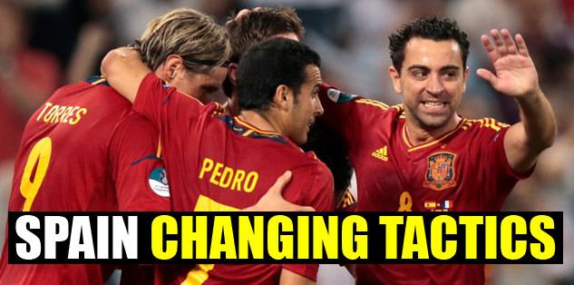 Spain changing tactics