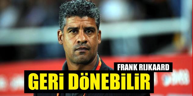 Rijkaard Hollanda'nın yeni patronu olabilir!
