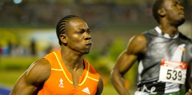 Yohan Blake, Bolt'u tekrar geçti