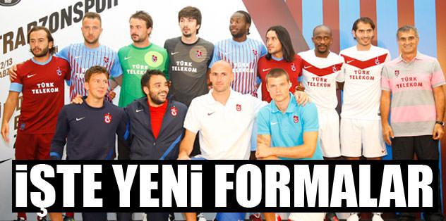 Trabzonspor yeni formalarını tanıttı