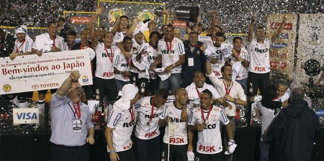 Copa Libertadores'de şampiyon Corinthians