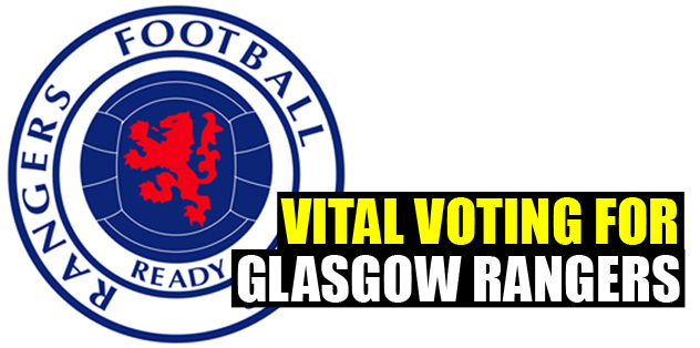 Vital voting for Glasgow Rangers