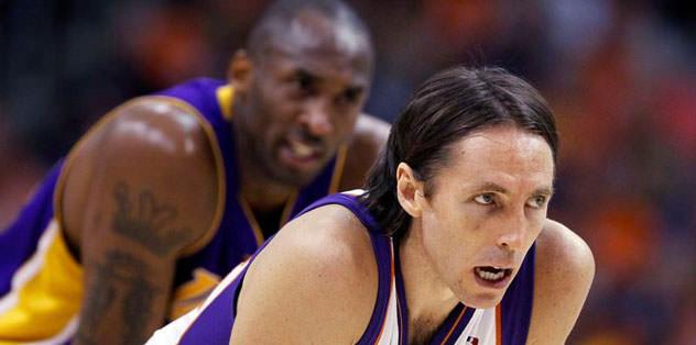 Steve Nash de LA Lakers'ta