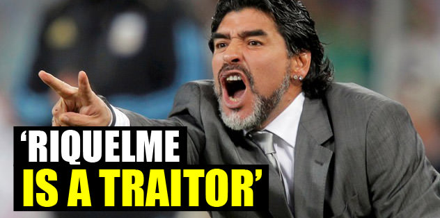 """Riquelme is a traitor"""