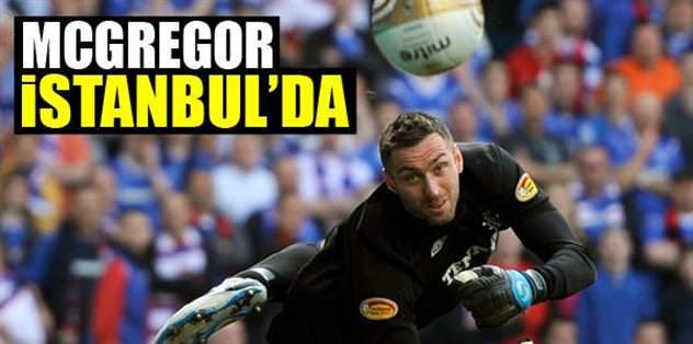 McGregor İstanbul'da