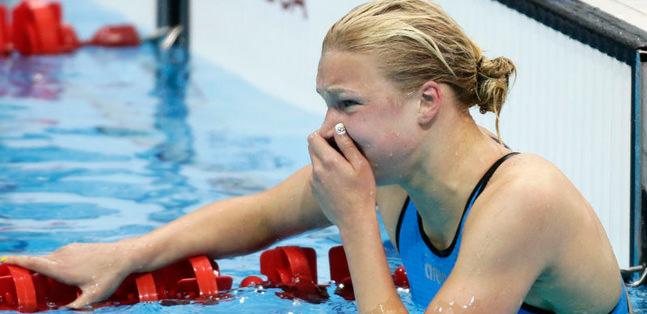 100 metreyi 15 yaşındaki Ruta Meilutyte kazandı