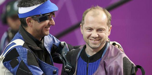 Atıcılıkta Martynov altını kaptı