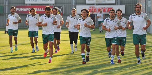 Bursaspor'da Kups mesaisi