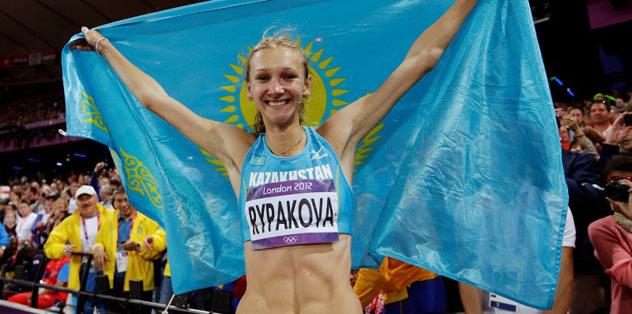 3 adım atlamada altın Olga Rypaova'nın