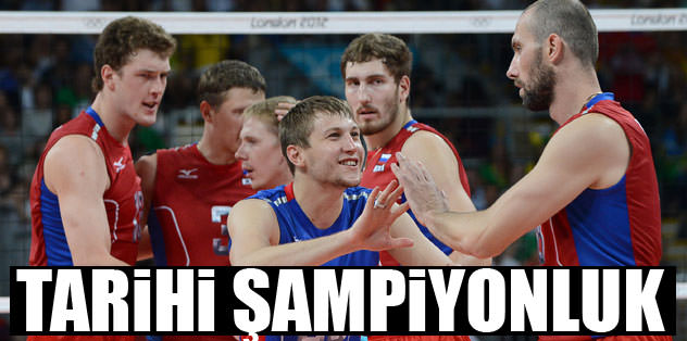 Tarihi final, tarihi şampiyonluk!