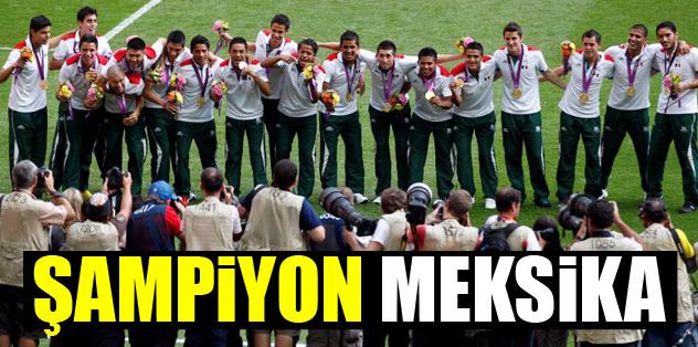 Şampiyon Meksika: 2-1