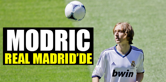 Modric Real Madrid'de