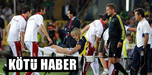 Fenerbahçe'ye Krasic'ten kötü haber