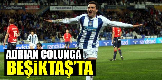 Adrian Colunga Beşiktaş'ta