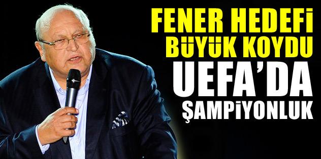 """Abdullah Kiğılı: """"Hedefimiz UEFA'da şampiyonluk"""""""