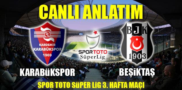 Beşiktaş ilk galibiyet peşinde