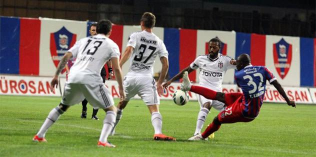 Beşiktaş savunmayı hatırladı