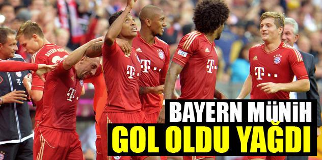 Bayern gol oldu yağdı