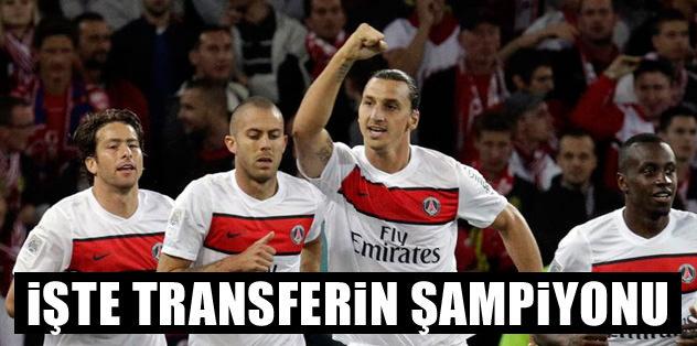 Transferin şampiyonu PSG: 147 milyon Euro