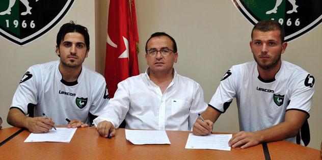 Denizlispor'dan çifte transfer