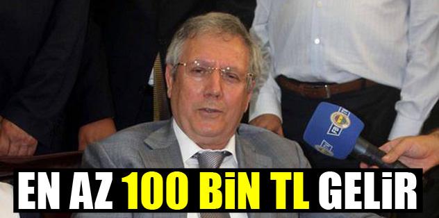 Yüz bin üyeden en az 100 milyon TL gelir