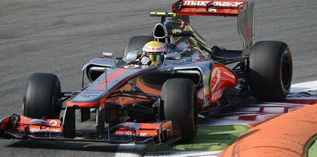 İtalya'da Hamilton kazandı