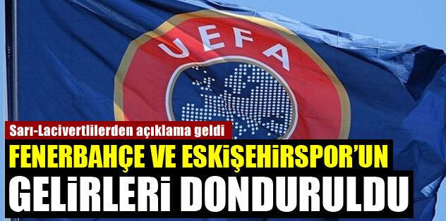 UEFA, F.Bahçe ve Es Es'in gelirlerini dondurdu