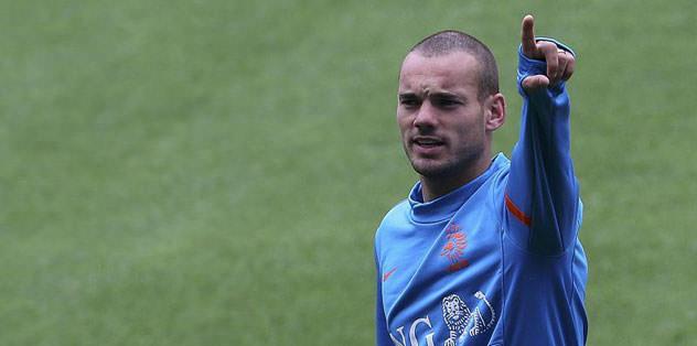 Sneijder: Şimdi değil