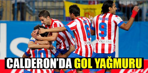 Calderon'da gol yağmuru