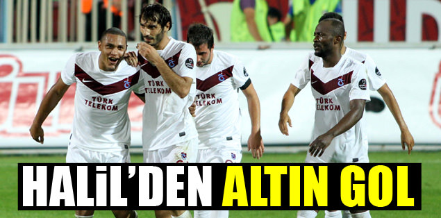 Halil'den altın gol