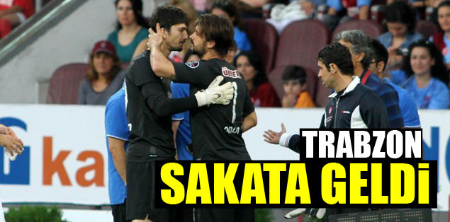 Trabzonspor sakata geldi
