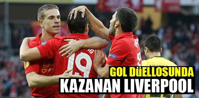Gol düellosunda kazanan Liverpool