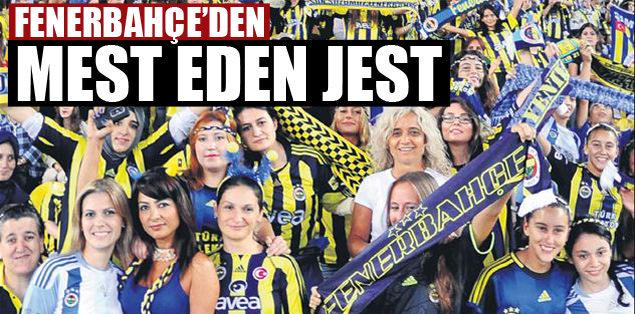 Fenerbahçe'den mest eden jest