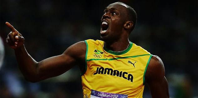 Bolt gazetecilerden koşarak kaçtı
