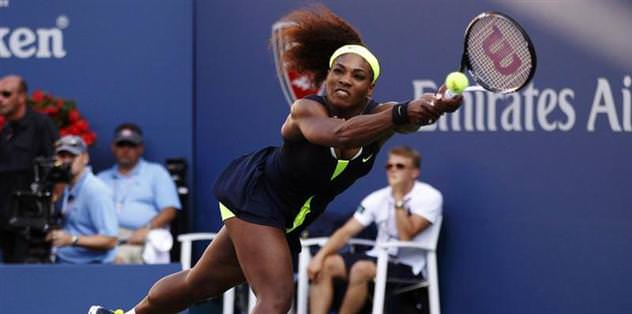 Serena'yı grip vurdu!