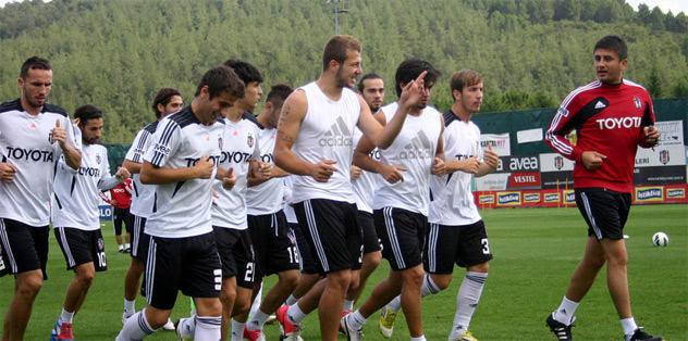 Kartal milli maç arasında Antalya'da