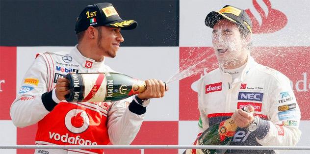 Hamilton'ın yerin Perez
