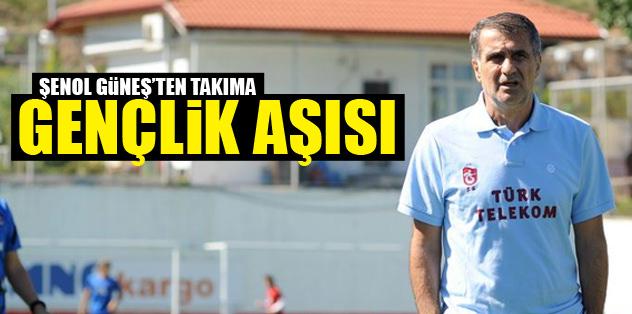 Trabzonspor'a gençlik aşısı
