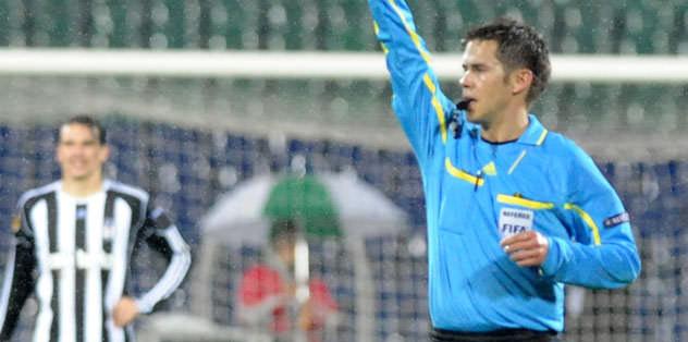 Braga maçına Norveçli hakem