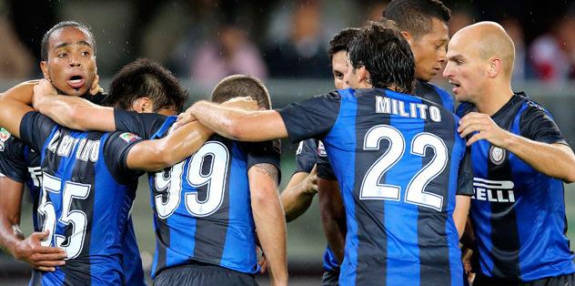 Inter ilk yarıda bitirdi