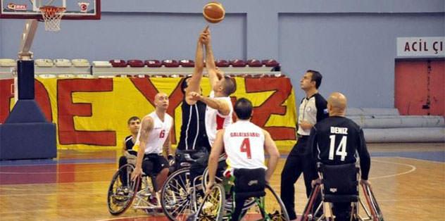 Engelli basketçiler KKTC'de
