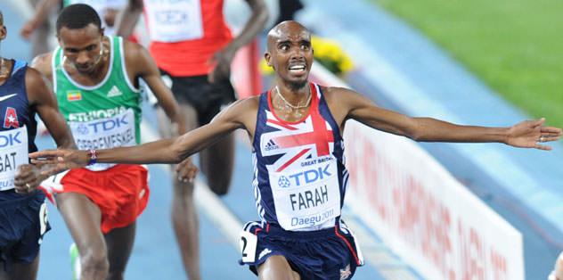Farah yılın erkek atleti seçildi