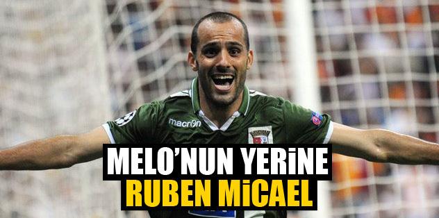 Melo'nun alternatifi Braga'lı Ruben Micael